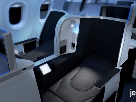 JetBlue to Launch Premium Cabin Service With its Own Name