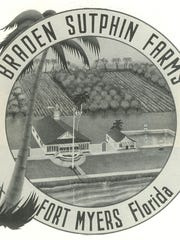 The logo for Braden Sutphin Farms