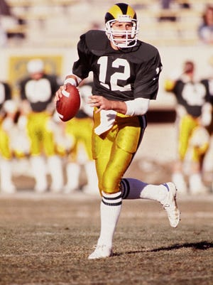 Who wore No. 12 best at CSU? Former quarterback Kelly Stouffer, pictured, is one of several notable No. 12's in CSU football history.