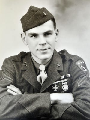 Leonard Englert joined the Marine Corps at age 17.
