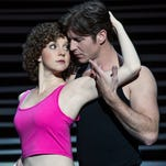 """Christopher Tierney (Johnny), Jenny Winton (Penny) and the company of the North American tour of """"Dirty Dancing — The Classic Story in Stage."""""""