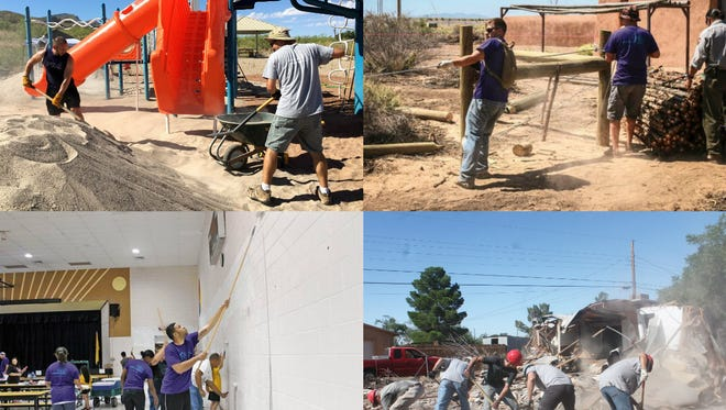 Over the course of a decade, Holloman Air Force Base's Big Give has completed 200 projects and saved Otero County $1.8 million. The Big Give officially kicks off on June 29.