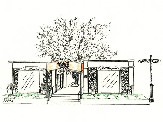 Drawing of Jett Thompson Home