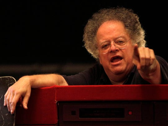 Conductor James Levine, photographed in 2009 before