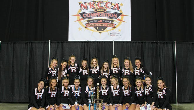 Ryle High School was the High School Grand Champion of the Northern Kentucky Cheerleading Coaches Association competition on Jan. 30.
