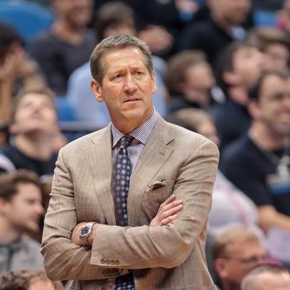 March 23, 2014; Minneapolis; Phoenix Suns coach Jeff