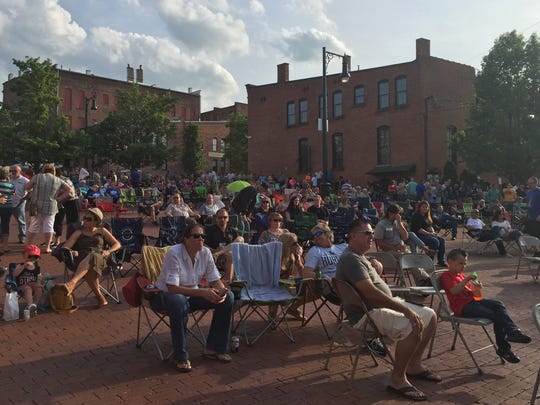 Final Fridays concerts return to The Brickyard in Downtown