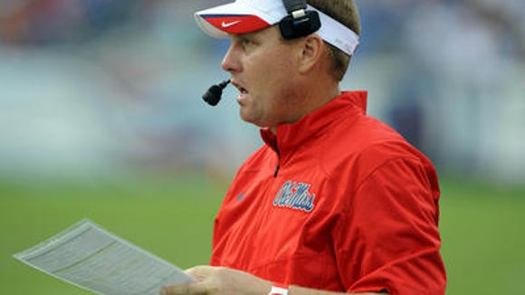 Ole Miss coach Hugh Freeze.