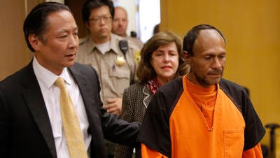 Arraignment of Juan Francisco Lopez-Sanchez, accused murderer of 32 year old Kathryn Steinle in San Francisco
