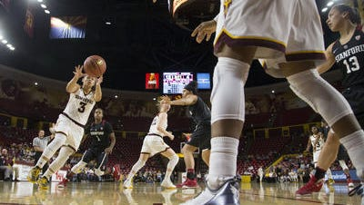 ASU freshman guard Sabrina Haines had a breakout 19-point game against Washington State, giving the Sun Devils another scorer for teams to worry about.