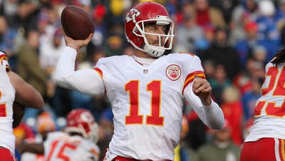 Alex Smith has thrown 10 touchdown passes in four playoff games.