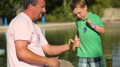 This spring break take the kids fishing at a local lake or river.