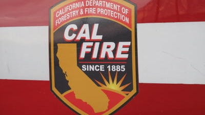CAL FIRE responded to a fire in Coachella Tuesday night that left residents without power.