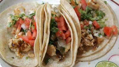Tacos will be sold at both of Market Street's Cinco de Mayo street festivals this weekend, scheduled for both Friday and Saturday.