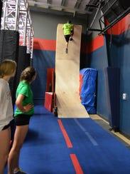 The Ninja Warrior training course based on NBC's American
