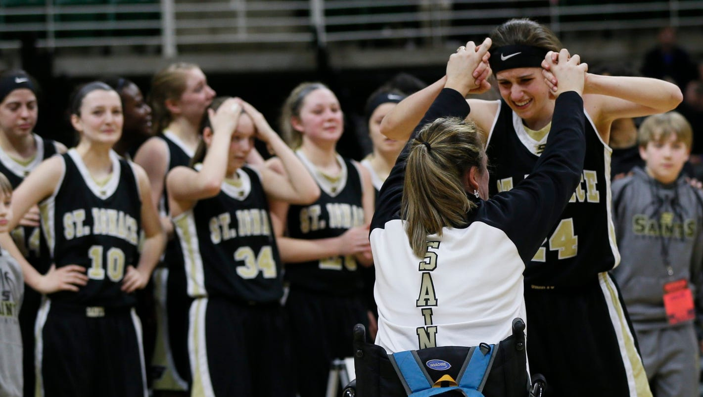 Even after 400 wins, St. Ignace's Dorene Ingalls happy after loss to Detroit Edison