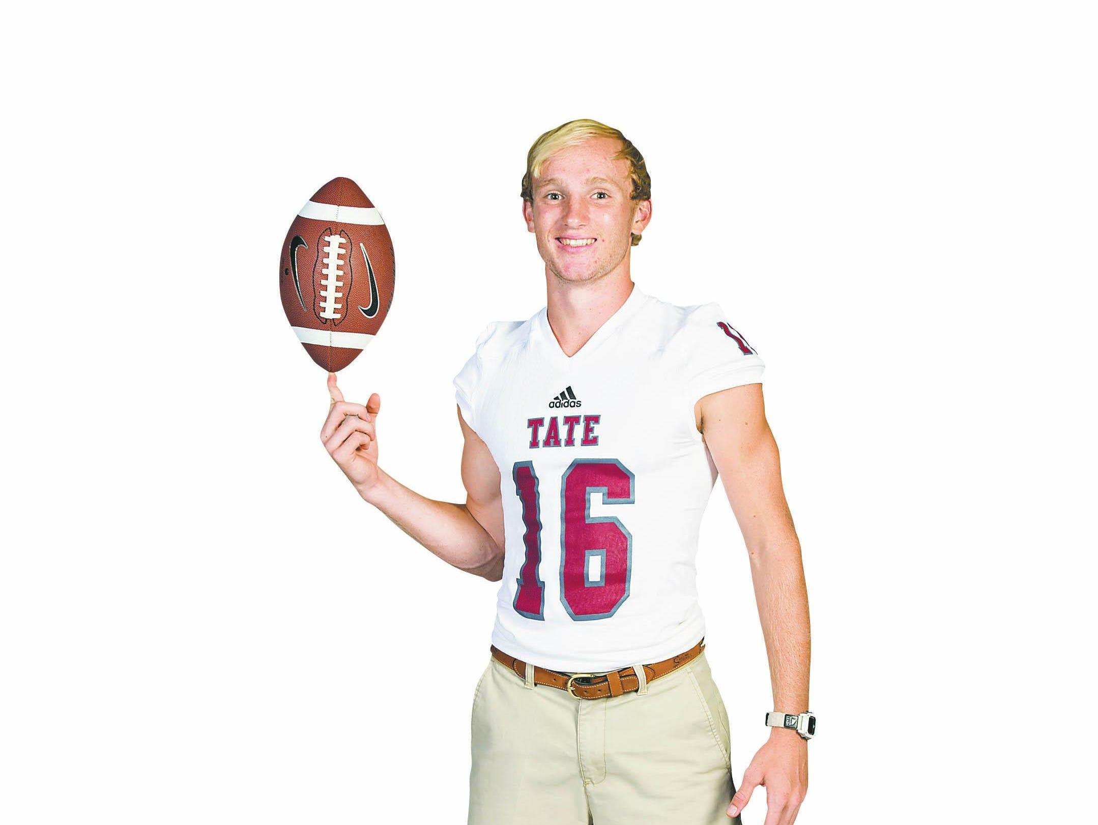 Tate quarterback Jake Henry