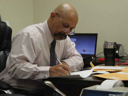 Eddy County Magistrate Judge Henry Castañeda canvasses