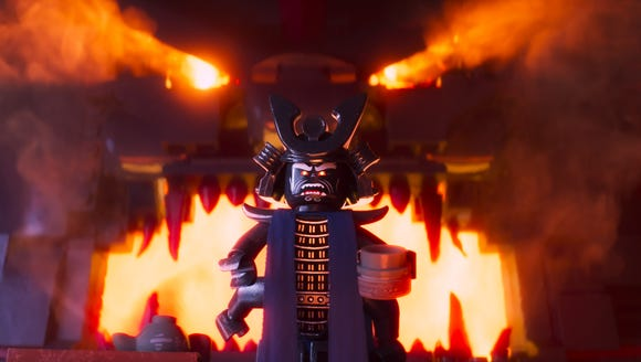 Lord Garmadon (voiced by Justin Theroux) is intent