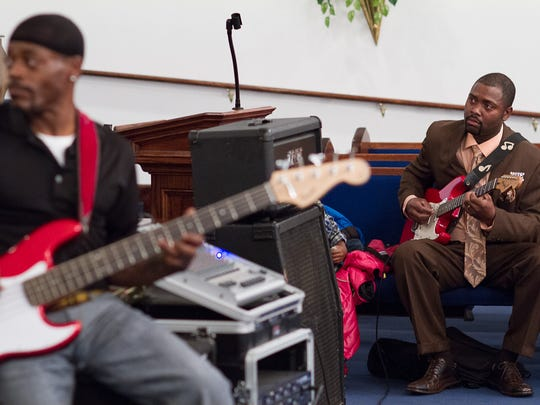 Mt. Olive M.B. Church hosts the Gospel Music Benefit Program for the Mitchell & Shirley Martin family Sunday.