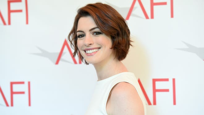 BEVERLY HILLS, CA - JANUARY 09:  Actress Anne Hathaway attends the 15th Annual AFI Awards at Four Seasons Hotel Los Angeles at Beverly Hills on January 9, 2015 in Beverly Hills, California.  (Photo by Jason Merritt/Getty Images)