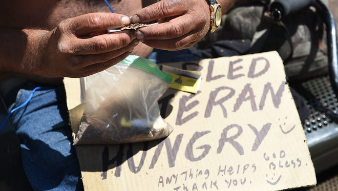 Colorado Springs has launched a new campaign that aims to curtail panhandling by encouraging residents to give elsewhere.