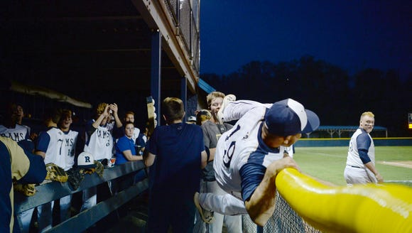 Roberson defeated Rockingham County 3-2 in the playoff