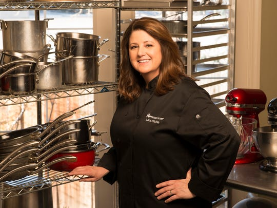 Lara Ritchie is cooking at the Cuisine, Corks and Crafts Festival at the Nugget.