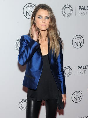 Keri Russell on Oct. 4, 2013 in New York City.