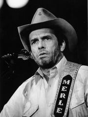 Merle Haggard in a 1986 concert at the Taylor County