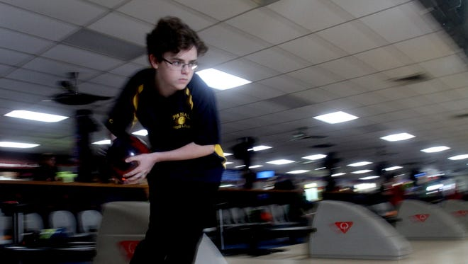 Nicholas Perrone of Walter Panas, photographed April 1, 2017, is the Westchester/Putnam boys bowler of year.