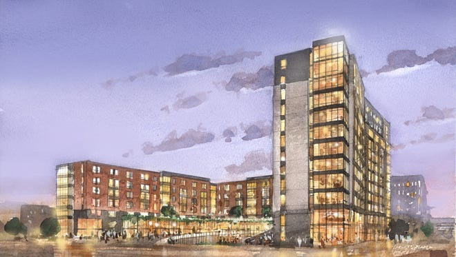 Marquette University is building two new connected residence halls to house about 750 students