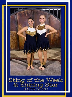 The Stephenville High School Stingerettes are proud to recognize Junior Madison and Sophomore Robyn for their efforts the week of the Oct. 2 Brownwood game.