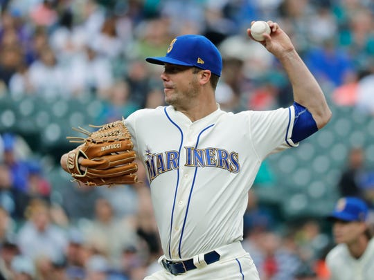 Wade LeBlanc has been the  Mariners' second-best starter