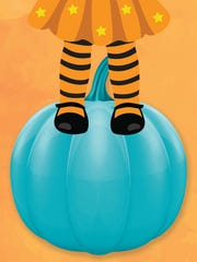 Look for a teal pumpkin this Halloween.