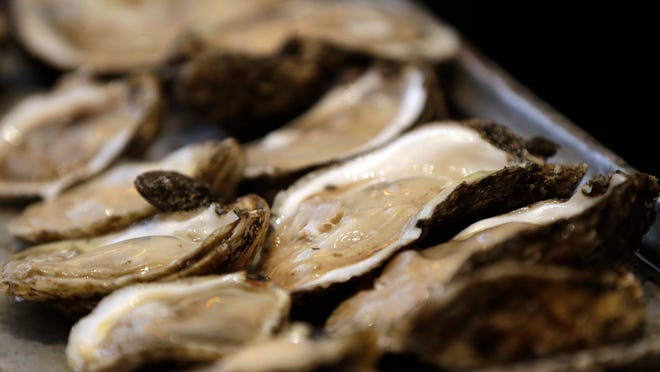 Louisiana oysters on the half-shell. [AP/File]