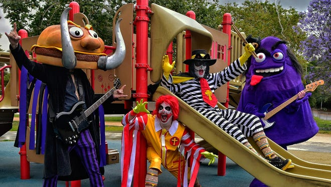 Yes, it's a thing. Mac Sabbath, a heavy-metal band that fuses Black Sabbath with McDonald's fast food, has a show Sunday, Sept. 4, at Montage Music Hall.