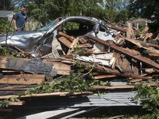 Mayors from East Greenwich Township and other South Jersey towns devastated by storm damage are hoping for FEMA support.