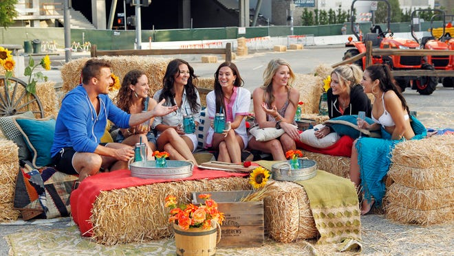 Chris and his group of six beautiful women are getting to know one another up-close-and-personal at their rooftop pool party, but how will the bachelorettes react to a tractor race in bikinis?