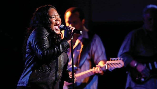 Blues singer Shemekia Copeland.