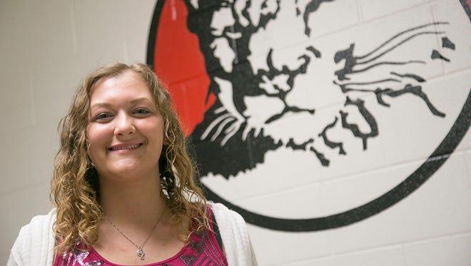 Jessica Eicher is a senior at Crestview High School.