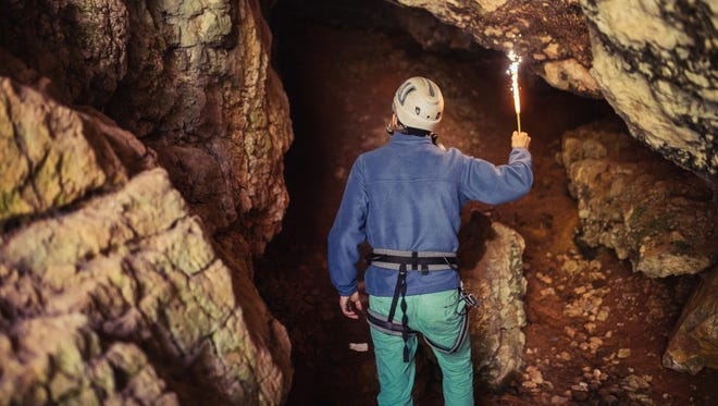 Twenty percent of the United States' caves are found in the Volunteer State.