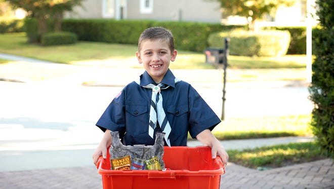 Fairview Cub Scouts to host neighborhood food drive Saturday.