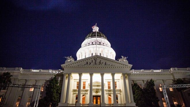 The Capitol in Sacramento.