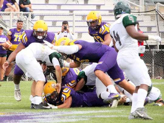 Western exhibited some tough defense Saturday against