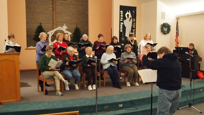 Women's Chorus rehearsal