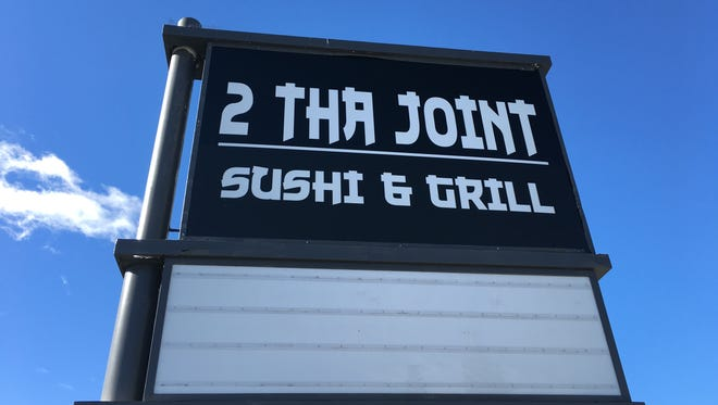 2 Tha Joint Sushi and Grill opened Nov. 15, 2015 on Plumb Lane.