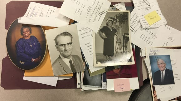 Abandoned obituary photos, found in News Leader files, are available for pickup by family members.