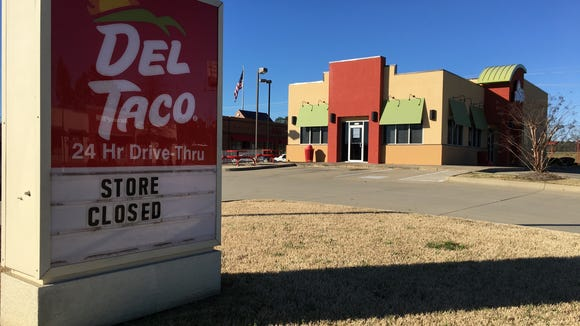 Montgomery's only Del Taco has closed, a little more than two years after opening in one of the state's hottest retail centers.