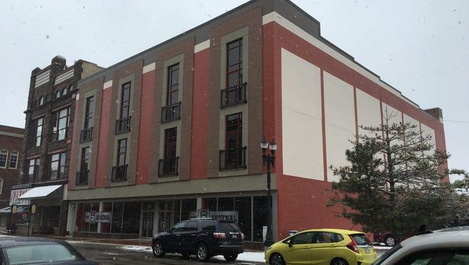 The former Sears building on Walnut Street in downtown Muncie.